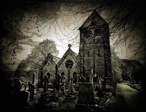 Churchyard by adagio