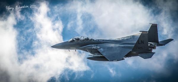 mcdonnell douglas F15 by djgaryrichardson