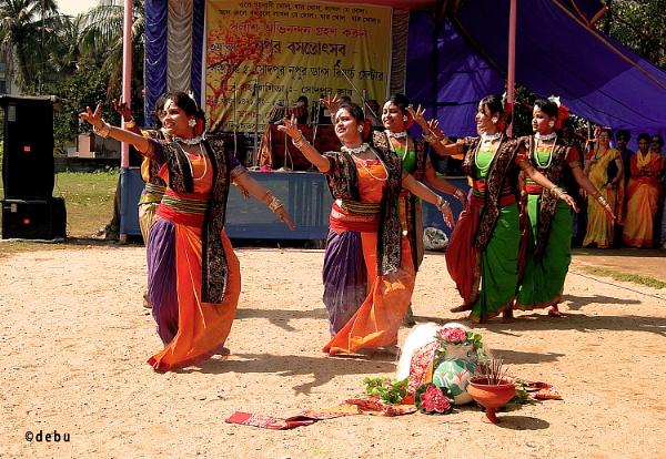 From_Kolkata # 120 Basant Utsav (Holi / Spring Festival).1b by debu
