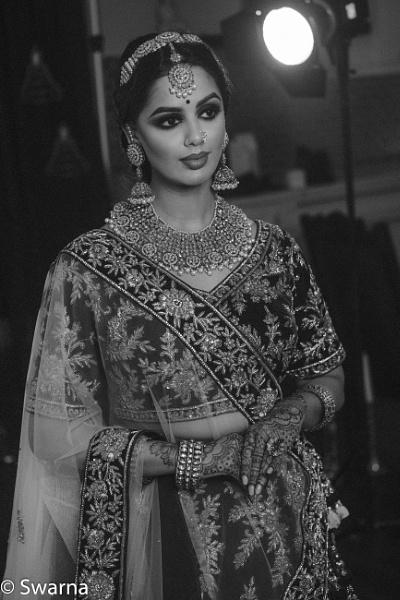 Bride getting ready... by Swarnadip