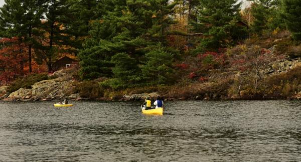 Canadian canoe by djh698