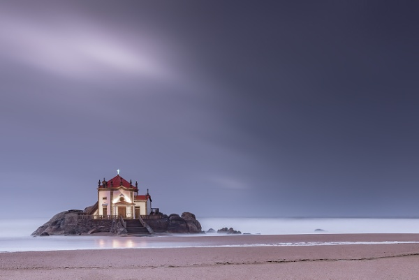 Chapel on the beach by trusth