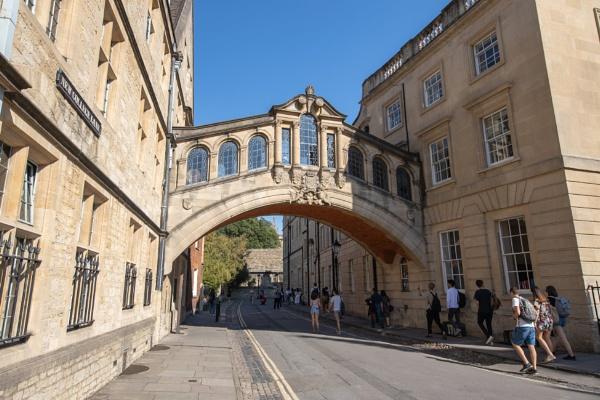 Oxford\'s Bridge of Sighs by Trekmaster01