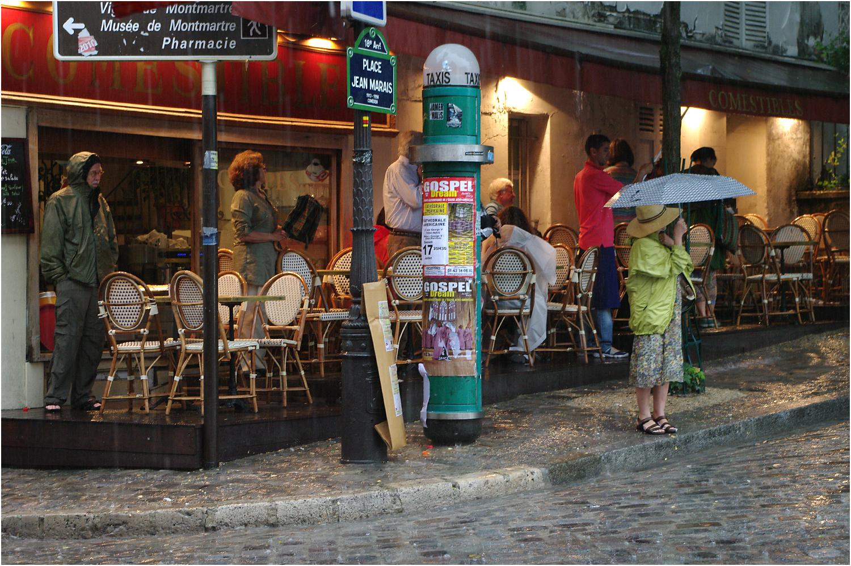 Montmartre Sours La Pluie