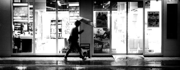 Pouring rain by MileJanjic