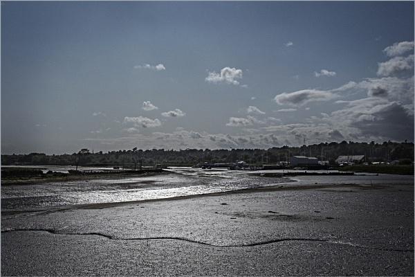 Low Tide on the River Deben by AlfieK