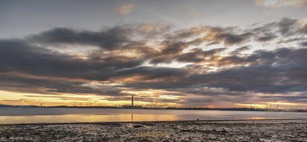 Sunset from Hook Nature reserve by IainHamer
