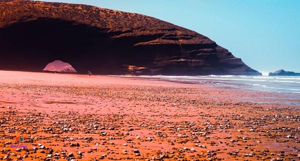Lagzira beach, Morocco by chafibilal