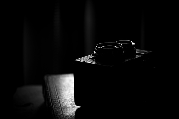 Old camera in black and white by CRAIGR2