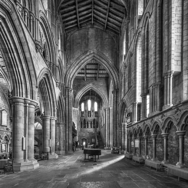 Hexham Abbey by AndrewAlbert