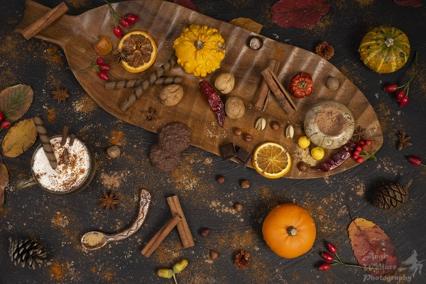 Pumpkin spices and hot chocolate by Angi_Wallace