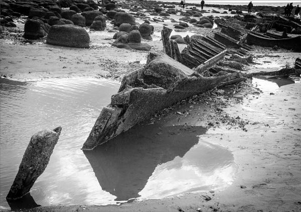 Hunstanton wreck by rambler