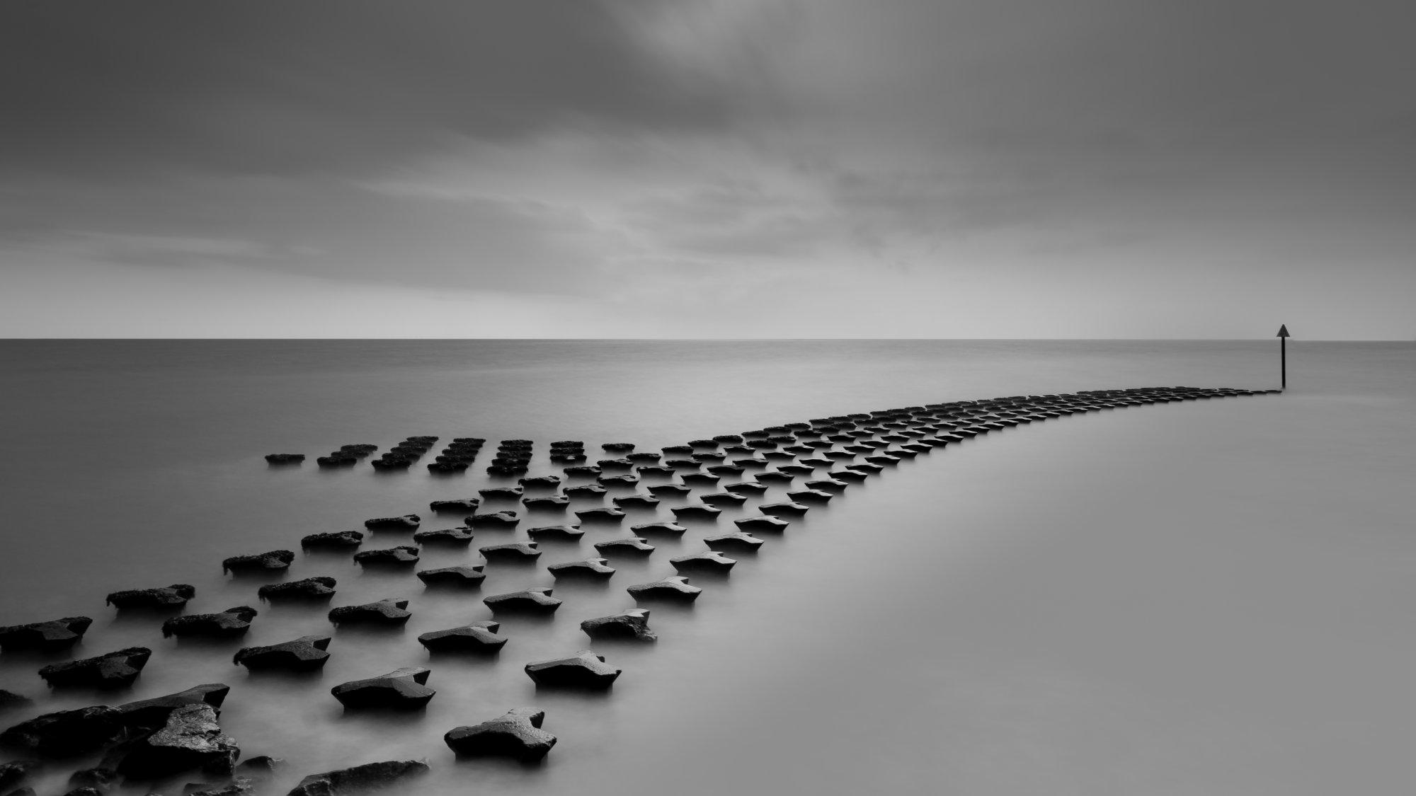 Sea defences