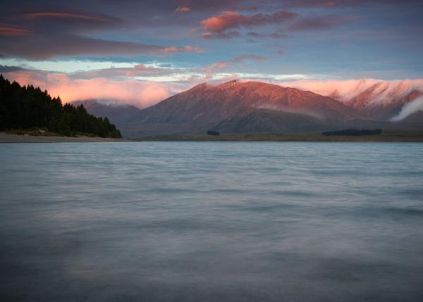 Sunset over Lake Tekapo by Stevefz