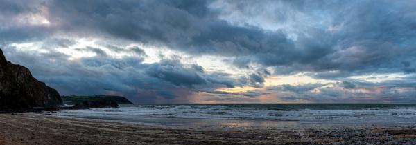Tresaith Sunset by jasonrwl