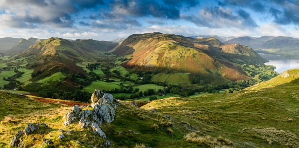 Ullswater Pano by geffers7