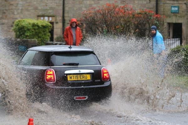 A soaking, Rivington, Lancashire by philtaylorphoto