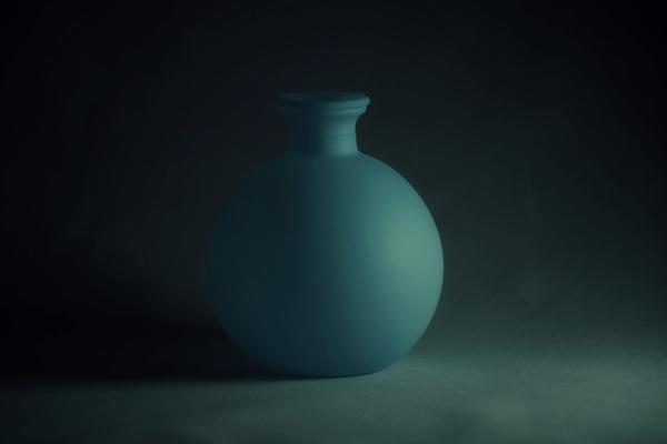 Blue pot by mdc0ffey