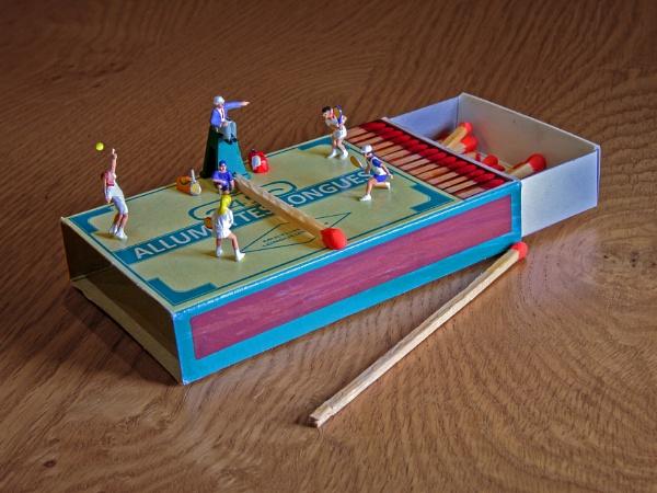 The big match by Stevetheroofer