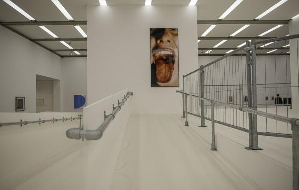 MUMOK modern art museum in Vienna, Austria by nellacphoto