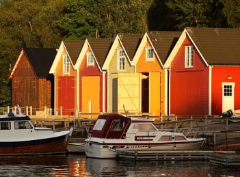 Norwegian Boathouses