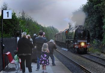Steam Train Duchess of Southerland