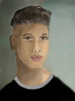 Painting Portrait Alex