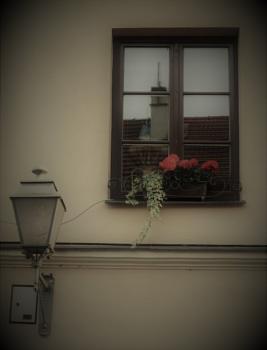 Window and lantern