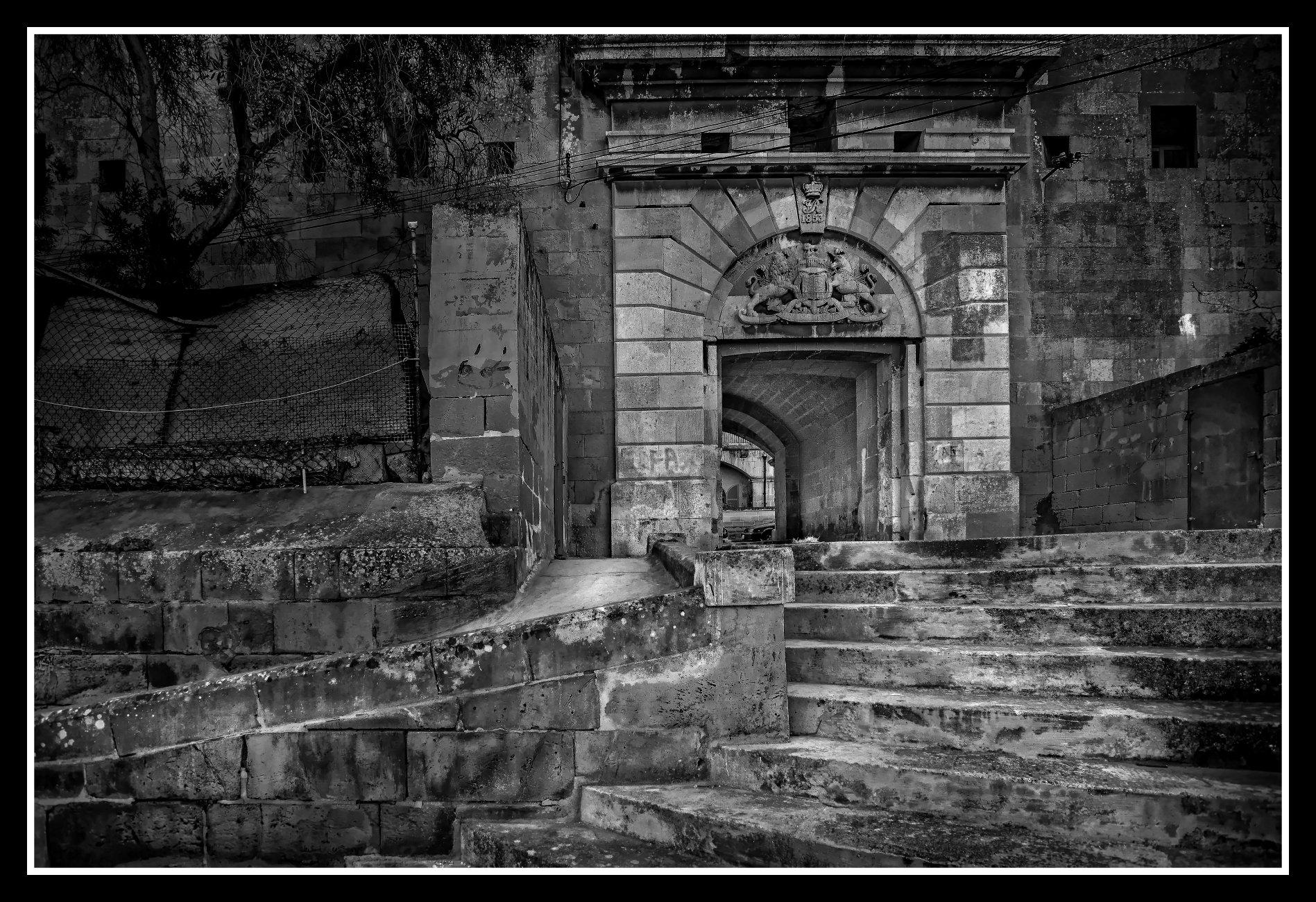 Bastion Archway BORMLA Città Cottonera, Città Cospicua