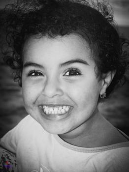 Black-whited Portrait