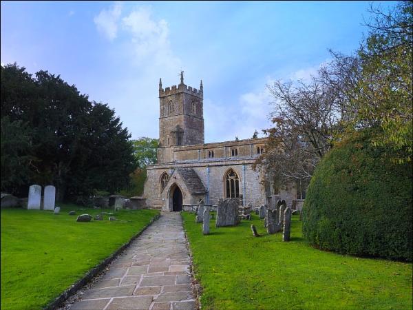 Wroughton parish church,Wiltshire. by niknakpaddywhack