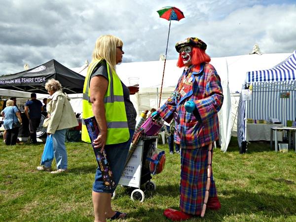 How dare you accuse me of clowning around steward. by niknakpaddywhack