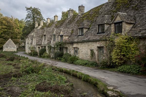 The village of Bibury, Gloucestershire. by sandwedge