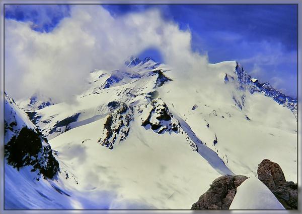 Mountain Snow by Sylviwhalley