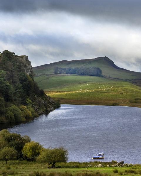 Crag Lough by AndrewAlbert