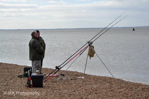 Beach fishing  by SusanKing