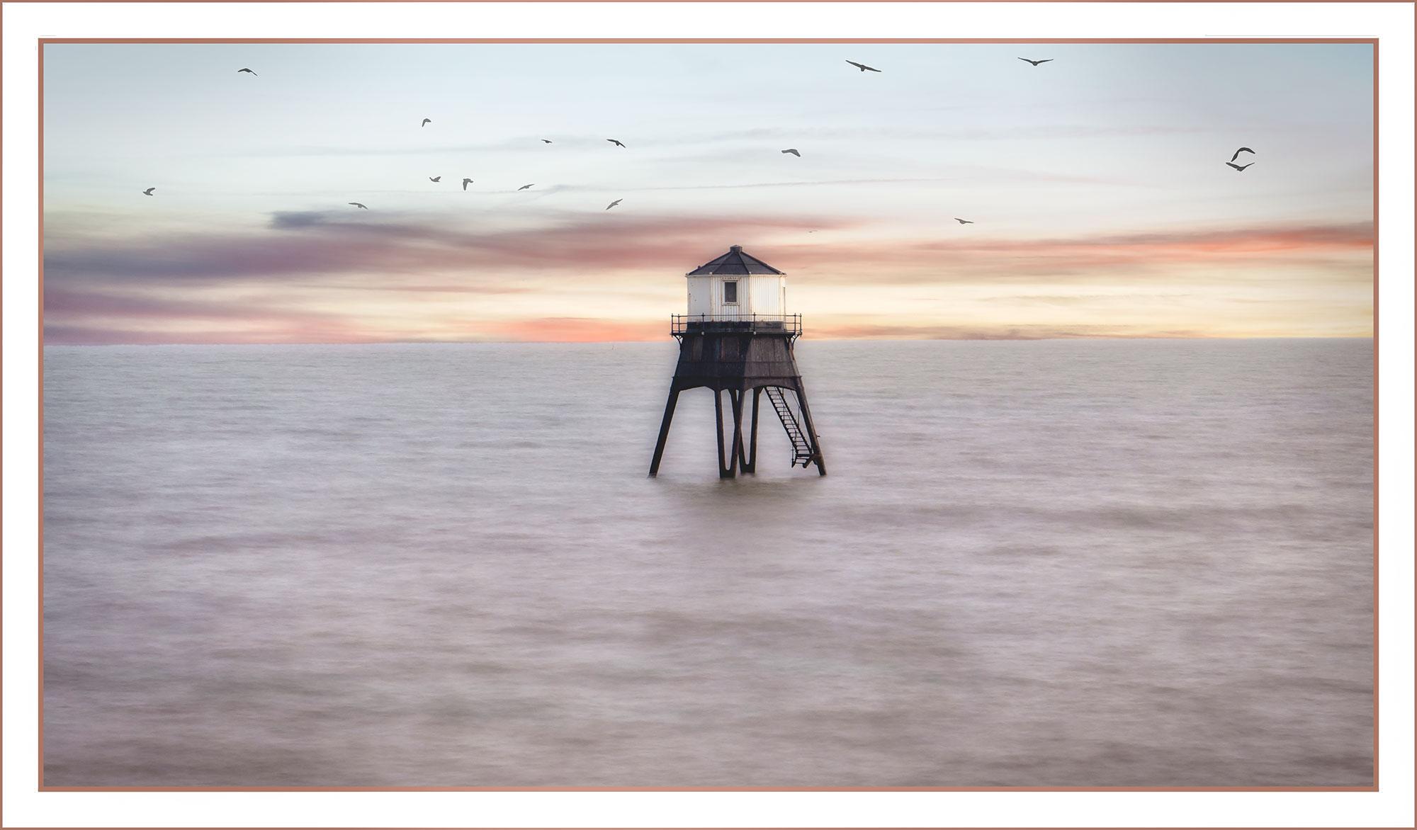 Flight over Dovercourt Lighthouse