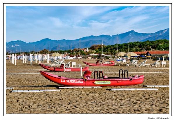 Marina di Pietrasanta - Tuscany by Robert51