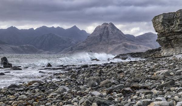 Elgol beach, Isle of Skye by dawnstorr