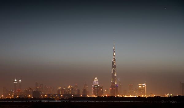 Dubai Nights by gpimages