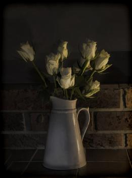 Roses by Candlelight