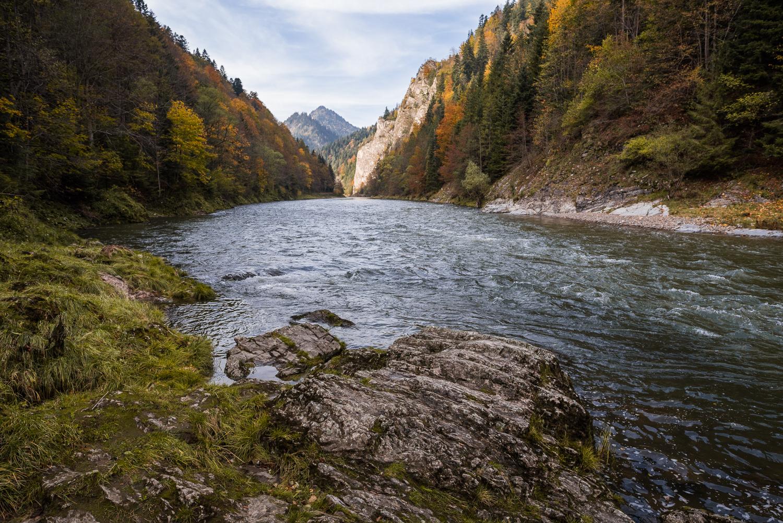 Dunajec in Autumn