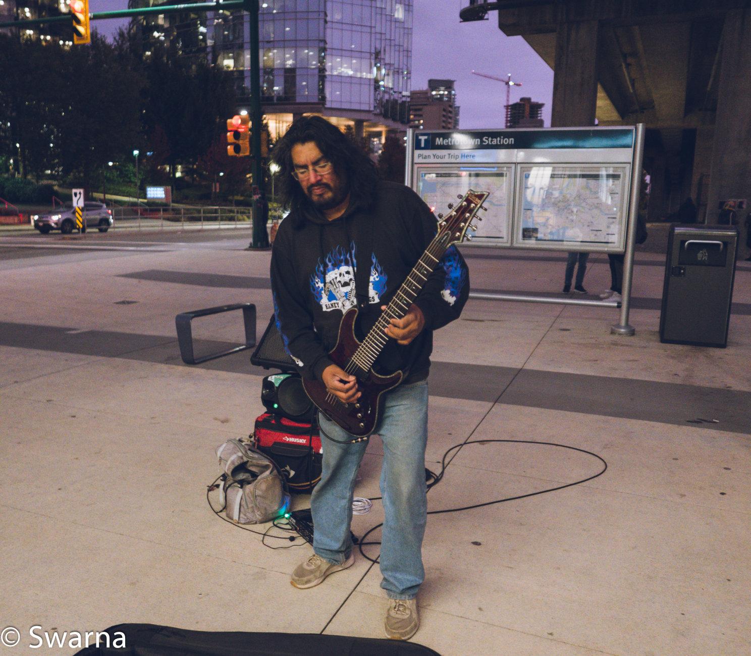 Guitarist III...