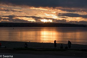 Sunset at English Bay, Vancouver BC