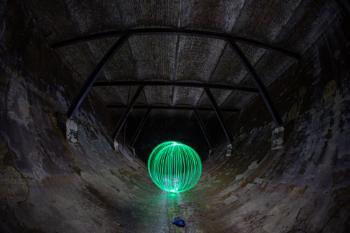Underground orb.