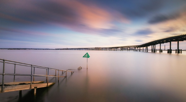 Canvey Island Oil Jetty by Les_Cornwell