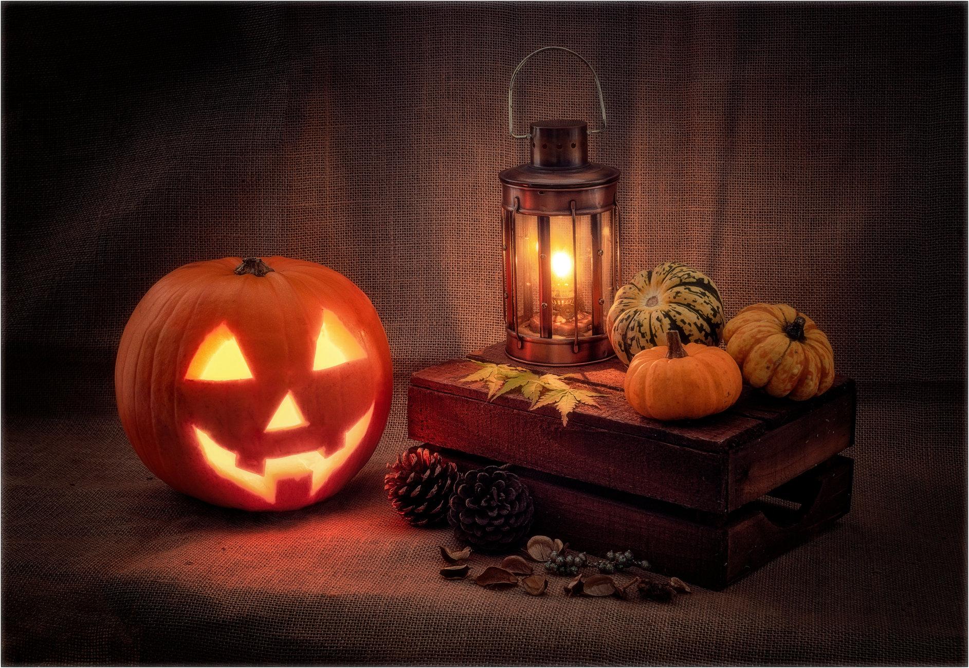 Still Life in Halloween
