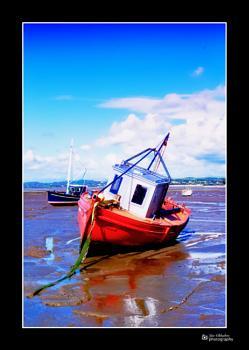 Morecambe bay boat