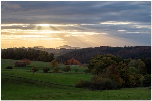 Autumn Evening by kw