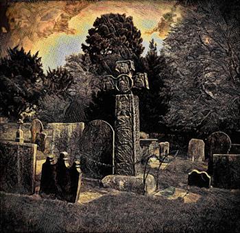 Celtic Cross 8th Century AD